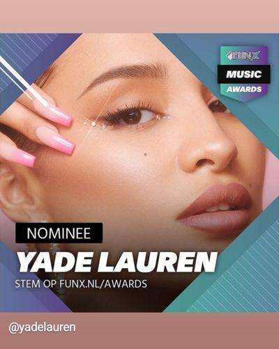 Yade Lauren - Best Female Artist 2020
